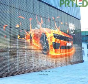 Alta luminosidade interior em cores de tela de vidro transparente na janela Display LED para parede de vídeo (P3.9 P7.8)