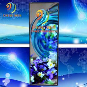 Rvb vendre populaire P4 à l'intérieur de la publicité ultra mince miroir Affiche LED