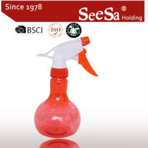 330ml mini botella de PET de plástico de la mano una presión pulverizador de gatillo (SX-2079)