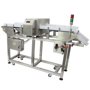Замороженные продукты переработки производителем металлоискателя