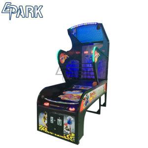 Máquina de basquetebol de luxo do centro de jogos de tiro de basquete Eletrônico de diversões para venda