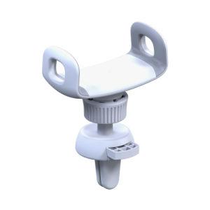 360度調節可能なユニバーサル車の電話ホールダーのエア・ベントの台紙の電話ホールダー