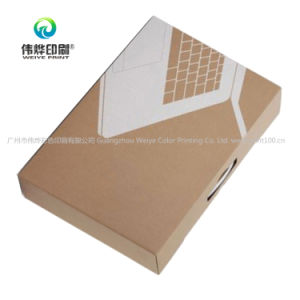 Eco-Friendly 전체적인 인쇄된 관례 포장 물결 모양 상자