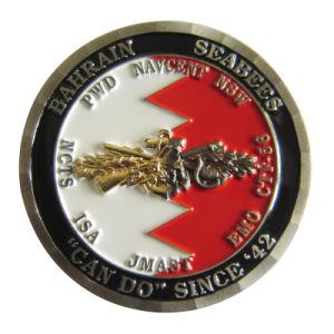 2018の小説のダイヤモンドの切口の端2の調子のめっきの金属の記念する硬貨(025)