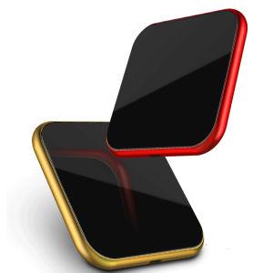 Hogar y oficina escritorio Utilice Smart Wireless inalámbrico habilitado Qi cargador de móvil compatible con 10 W, 5W, 7.5W