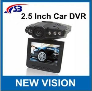 Auto DVR mit 2.5inches 270degree drehbares Ltps bunter LCD, 6lr LED Nachtsicht