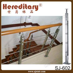 Rete fissa esterna della balaustra dell'inferriata del tubo dell'acciaio inossidabile per il balcone
