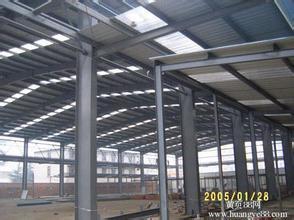 Estructura de acero de la luz de Carport/almacén o taller (SP-0021)