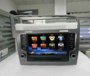 8-дюймовый DVD-плеер для GPS автомобилей VW Golf 7 с поддержкой системы RDS Canbus Bluetooth ПДУ на рулевом колесе CE 6.0