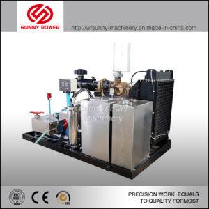 10000 фунтов триплексный плунжера насоса воды для очистки машины с приводом от двигателя