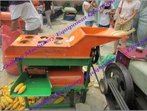 Le maïs de semence de maïs électrique Busking bombardement Threshing machine