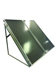 Placa plana de alta pressão colector solar térmico