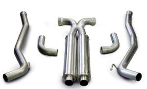 Leistungs-Stahlselbstauspuff-Rohr