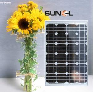 太陽エネルギーシステム(のための60Wモノラル太陽電池パネルかモジュールSNM-M180 (72))