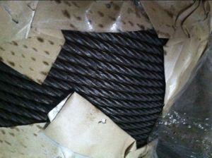 Fune metallica ricoperta/galvanizzata 6X19+Iws, materiale dello zinco del acciaio al carbonio