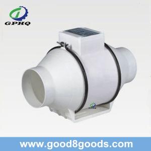 Ventilatore di flusso assiale di plastica del ventilatore in-linea del condotto