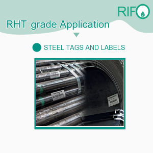Пэт и высокой температуры на базе Aluminium-Foil листовой стали подписи материалов
