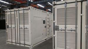 40GP conteneurisées générateur diesel Cummins 1MW 1250kVA