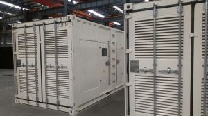 40gp containerisierter Cummins 1MW Dieselgenerator 1250kVA