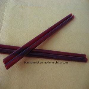 Boa estabilidade térmica tubos de vidro de sílica vermelho