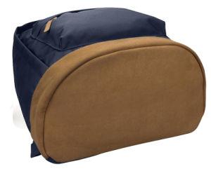 Мода пользовательские открытый поездки синий полиэстер ноутбук школы рюкзак сумка