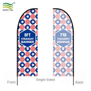 Plage Feather Swooper drapeau avec la conception personnalisée