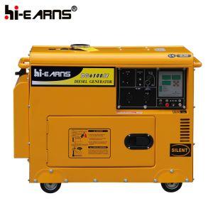 Kleiner Dieselgenerator mit Digital-Panel (DG6500SE)