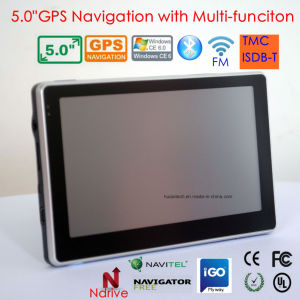 新しい5.0 車DVRの5.0mega車のデジタルビデオ・カメラ、駐車の後ろのカメラ、BluetoothのFM送信機と、AVで中間人間の特徴をもつ車のタブレットのパソコンWiFi