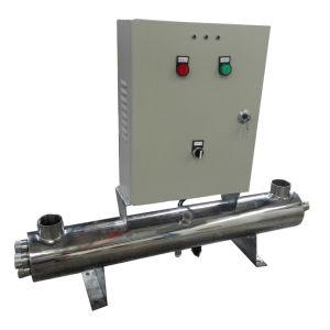 30t/Hr Esterilizador ultravioleta (UV) para a Desinfecção de Água de Piscinas
