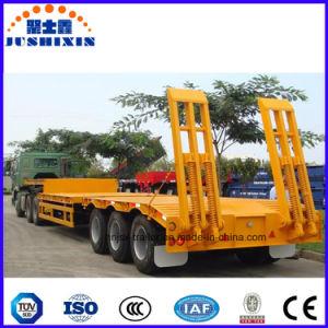 De Directe Verkoop 30ton, 50 Ton, 60ton, 80ton, de Lage Aanhangwagen van de Fabriek van China van de Vrachtwagen van het Bed van Lowboy van de Lader 100ton Lage Semi