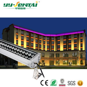 高い発電72W屋外LEDの壁の洗濯機ライト