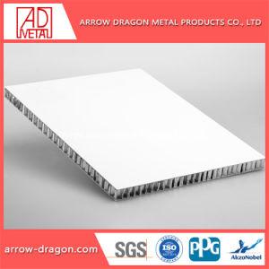 Painéis de alumínio alveolado Non-Combustible PVDF para fachadas/ Fachada