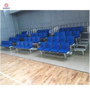 Gimnasio Bleacher gradas tribuna cubierta retráctil