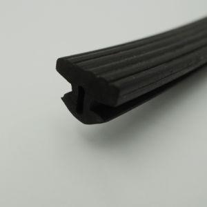 Plastic-Steel personalizada PVC puertas y ventanas el sello de plástico de Gaza con ranuras