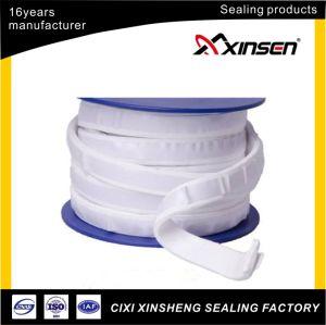 De color blanco de adhesivo de respaldo en cinta de teflón PTFE expandido