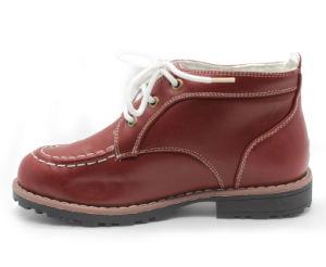 Los muchachos de vaquero de invierno la nieve de cuero botas prepárate para niños