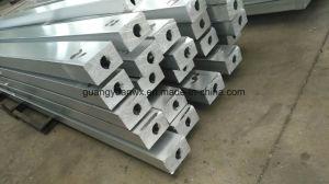 6060 T66 de aluminio anodizado de perfiles de aluminio Industrial tubos para ferrocarril