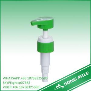 28/410 Chino verde/blanco dispensador de loción para líquido