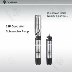 Pompe à eau électrique du flux 77m3/H de l'acier inoxydable 8  grande