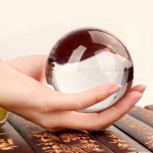 La mejor personalizado venta láser 3D bola de cristal para la decoración de Navidad y regalos