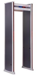 Camminata elettronica di zone di rilevazione del metal detector 18 tramite il metal detector