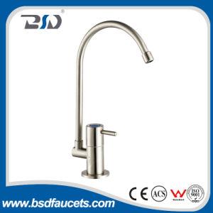 Grifo sin plomo del agua potable del acero inoxidable para la filtración del RO Sistema-Aplicada con brocha