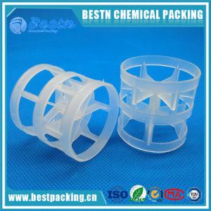 Pp, PE, PVC, anello della cappa di PVDF per l'imballaggio della torretta