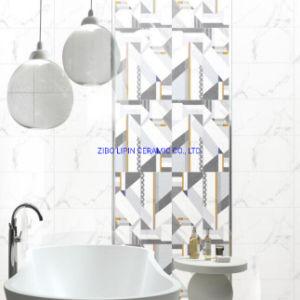 Buscar Cararra de mármol blanco brillo de la pared cerámica Baldosas