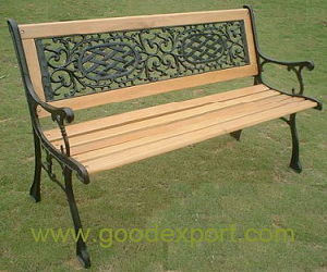 鋳鉄の公園のベンチ(EN1106)