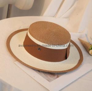 Style britannique et les voyages de vacances plage Cap chapeau avec Flat-Top