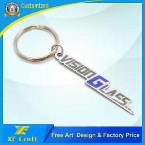 Настраиваемые металлический логотип компании цепочке для ключей для продвижения по службе (KC12)
