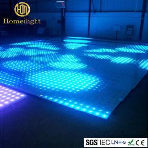 De hete Disco van de Verkoop gebruikte Aangemaakt LEIDEN van het Glas VideoDance Floor