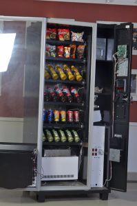 Компактный сладкие конфеты автомат с система охлаждения