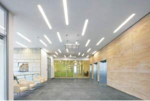 LED Empotrables de techo vinculables luz lineal para el techo de la tienda